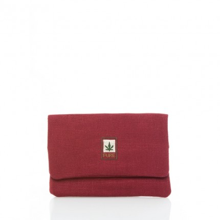 Hemp tobacco pouch bordo-PURE