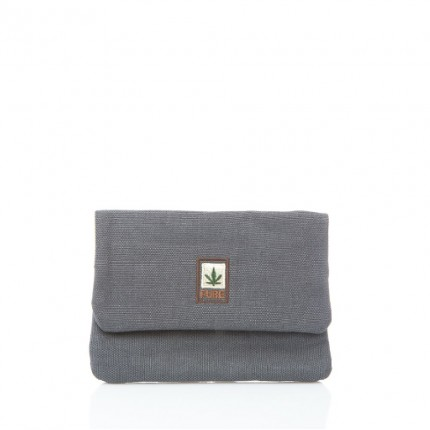 Hemp tobacco pouch grey-PURE