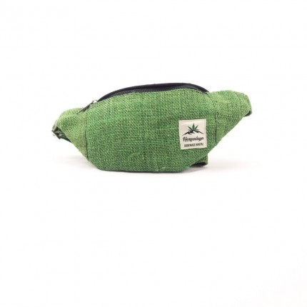 Hemp belly bag green-HEMPALAYA