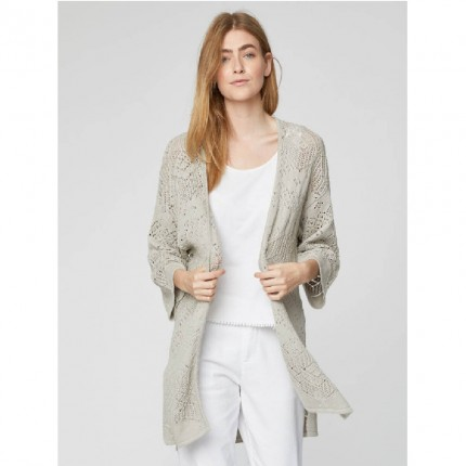Hemp knitwear-Evelyn cardigan