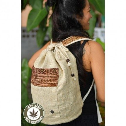 Hemp string bag Freiheit
