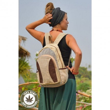Hemp backpack-Freedom