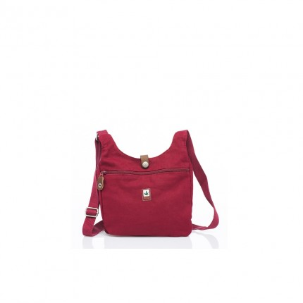Small hemp bag bordo-PURE