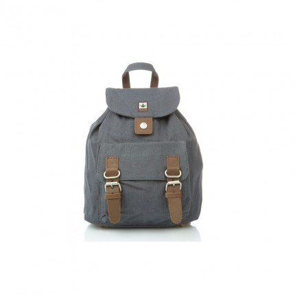 Hemp backpack grey-PURE