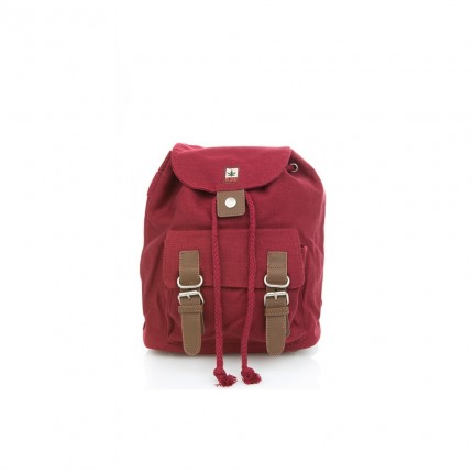Hemp backpack bordo-PURE