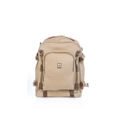 Hemp/leather backpack...