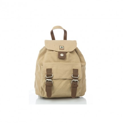 Hemp backpack beige-PURE